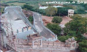 Temple access road October 2002